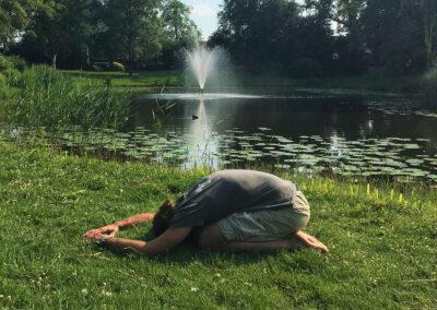 yin yoga sessie voor de zomer  yoga met joska
